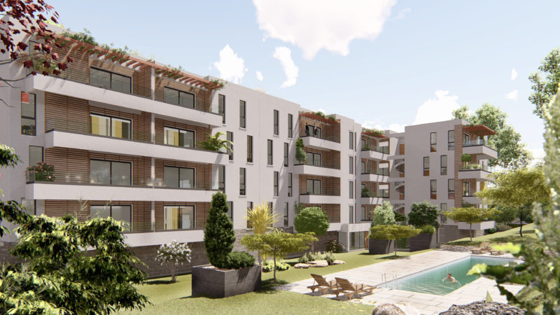 Immeuble de 40 appartements Anakea